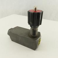 Flutec SRVR-12-011/5 1/2 NPT Hydraulic Flow Control Valve 3000 PSI