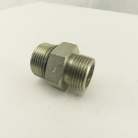 1-5/16-12 (-16) O-Ring Boss Flat Face x 1-3/16-12 O-Ring Face Hydraulic Fitting