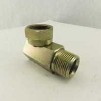 1-11 1/2 Female Swivel Inverted Flare x 1-11 1/2 Male Adaptor 90° Elbow