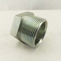 1-1/2-11  Male Flare Seat x 1-1/4 NPT Female Steel Hydraulic Bushing