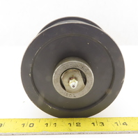 """Browning 4-1/2"""" X 2-1/2"""" Flat Face Idler Pulley W/Needle Bearing & Axel"""