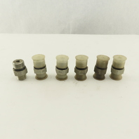 1/2 (-8) O-Ring Face x 3/4-16 (-8) O-Ring Boss Hydraulic Fitting Lot Of 6
