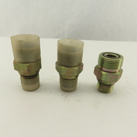 1-7/8-12 (-10) O-Ring Boss Male x 1-3/16-12 (-14) Hydraulic Adaptor Lot Of 3