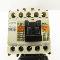Fuji SC-05/G 600V 5.5kW Magnetic Contactor 1.7-2.6A Trip TR-ON/3 Overload