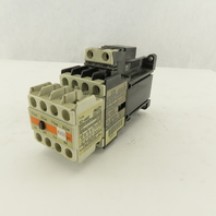 Fuji SC-0/G 600V 5Hp Magnetic Contactor W/ Auxiliary 4 NO 10A Block