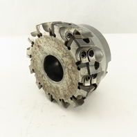 """Seco R220.30-04.00-12ST 4"""" Indexable 12 Tool Shell/Face Mill Face 1-1/2"""" Arbor"""