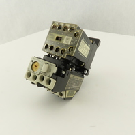 Fuji SJ-OSG 440V 2.2kW 5A Magnetic Contactor 0.48-0.72A Trip TR-ON/3 Overload