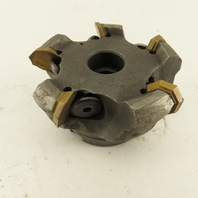 """3-1/2"""" Indexable 5 Tool Shell/Face Mill 1"""" Arbor"""