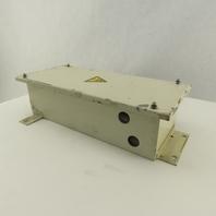 "5"" x 12-1/2"" x 3-5/8 Deep Electrical Enclosure Junction Box"
