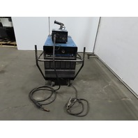 Miller Deltaweld 452 MiG Welder 450A W/S-22A Wire Feeder Wheel Package 3 Phase