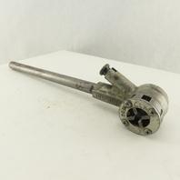 """Toledo Manual Ratcheting Pipe Threading Die Handle W/ 1/4"""" Die"""