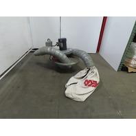 CINCINNATI FAN 100S 1.5Hp Drum Barrel Mount Vacuum Dust Collector 208-230/460V