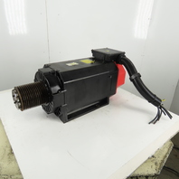 Fanuc A06B-1454-B250 a50/6000iP 40Hp 30kW 6000 RPM MAX 159-220V AC Spindle Motor