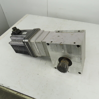 Yaskawa SGMGH-44ACA61 9.25:1 Ratio 162RPM 5.9Hp 200V 3Ph AC Servo Gear Reducer