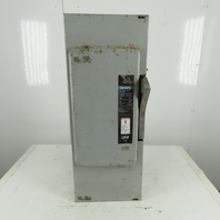 Siemens SN-424 Series A 200A 240V AC/DC 3 Pole Fused Safety Disconnect Switch