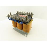 Bum Han BH3B-0.15D2221 220V Primary 21V Secondary 0.15kVa 3Ph Transformer