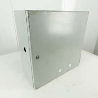 """Hoffman CSD20208 20 x 20 x 8"""" Type 4,12 Electrical Enclosure With Back Plate"""