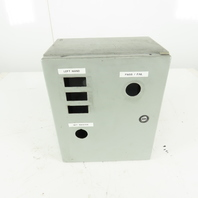 """Hoffman CSD12106 12 x 10 x 6"""" Electrical Enclosure Type 4, 12 With Back Plate"""