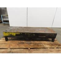 """59-1/2""""L x 17-1/2""""W x 13""""H Industrial Step Riser Anti Skid Perforated Tread"""