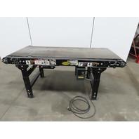 """Hytrol  69"""" Slide Bed Belt Conveyor 24"""" Wide Belt 0-12FPM 115V Single Phase"""