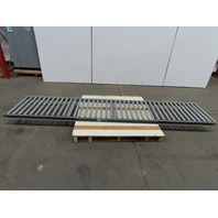 "Uline H5015 Light Duty Gravity Conveyor 24""x 120"" 22"" BF"