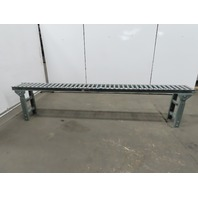 "Uline H4069 Light Duty Gravity Conveyor 12""x 120"" 10"" BF W/24-36"" Ht Legs"