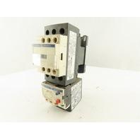 Telemecanique LC1D256 LR3D 216 Magnetic Contactor 110V Coil 12-18A Overload Trip