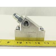 Sun Hydraulics EJJ Aluminum Block Manifold T-11A 8SAE 1LN8 Pressure Relief Valve