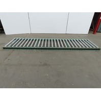 """30""""x 120"""" Gravity Roller Conveyor 27"""" BF 1.90 Rollers 4-1/2"""" Centers"""