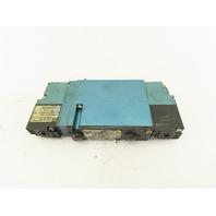 MAC 92B-EAF-CJA-DM-DFFP-1DM 5/3 Way Closed Center Pneumatic Valve 24VDC Coil