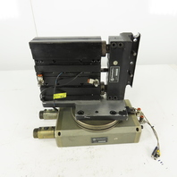 """Robohand RR-66-180-A DLT-25BC-4 4"""" Stroke Thruster Block W/ 180°  Turn Table"""