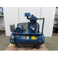 Reciprocating 2 Stage Air Compressor 120 Gal 10Hp  230/460V
