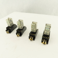 Omron G2A-432A 24V Relay Module Socket Lot OF 4