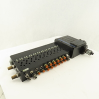 MAC 11 Channel Pneumatic Logic Circuit Bar For 92B Series Valves