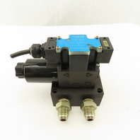Nachi SL-G01-A3X-R-D2-31 3 Way Closed Center Hydraulic Directional Valve 24VDC