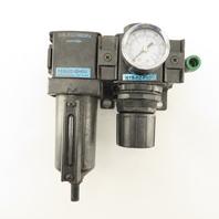 Wilkerson F18-02-SH00 R18-02-F001 1/4 NPT Airline Filter Regulator