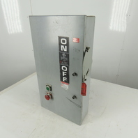 GE THN3363J Model 11 100A 600V 3 Pole Non Fused Service Disconnect