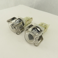 Square D Class 9001 Type KA-1 2 Position Selector Switch 600V Lot Of 2