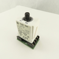 Square D Class 9050 JCK-15 On Delay Timing Relay 1.8-180 Sec With Socket Base