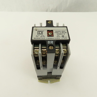Square D Class 8501 Type XO 20 12 Pole 8 N/C Contactor Control Relay 120V