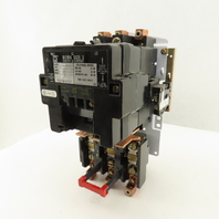 Square D Class 8536 Type SE01 600V 50Hp Polyphase Size 3 Contactor 120V Coil