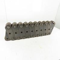 "Webster CC5 Steel Bushed Roller Chain  (SBR) 6"" Pitch  99' Style 3 Lot /10 pcs"