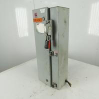 Cutler Hammer 600V 3P Fusible Combination Motor Controller W/W200M1CFC Starter