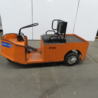 EVI 3 Wheel Utility Cart Shop Mule 24V 1038 Hrs