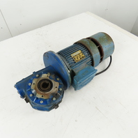 SITI/Lafert Gearmotor 3/4 Hp 220/380V 50HZ 3Ph 50:1 Ratio 25mm Hollow Shaft