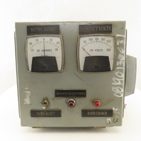 OS Walker Company BXM 4121 Display Section Controls Operator Interface