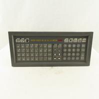 Okuma C-9402-4101-1 Operator Control Keypad For LFS15-1SP CNC Lathe