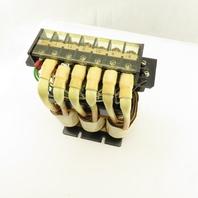 Okuma E2530-413-014 B 400uH 40A Transformer Choke