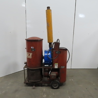 Invincible/Gardner Denver 4654 15Hp Industrial Portable Vacuum System 460V 3Ph