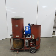 Invincible/Gardner Denver 4654 15Hp Industrial Portable Vacuum Systm 460V 3Ph